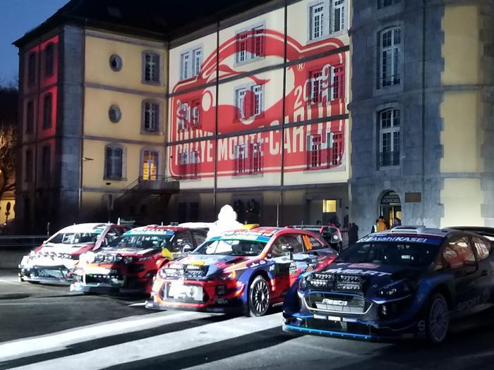 Rally Monte-Carlo, le foto della partenza