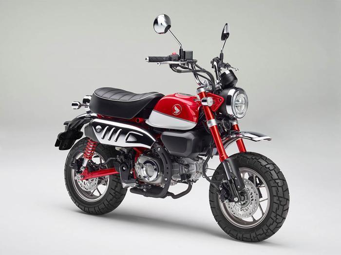 Ritorna Honda Monkey 125, la piccola moto anni '70