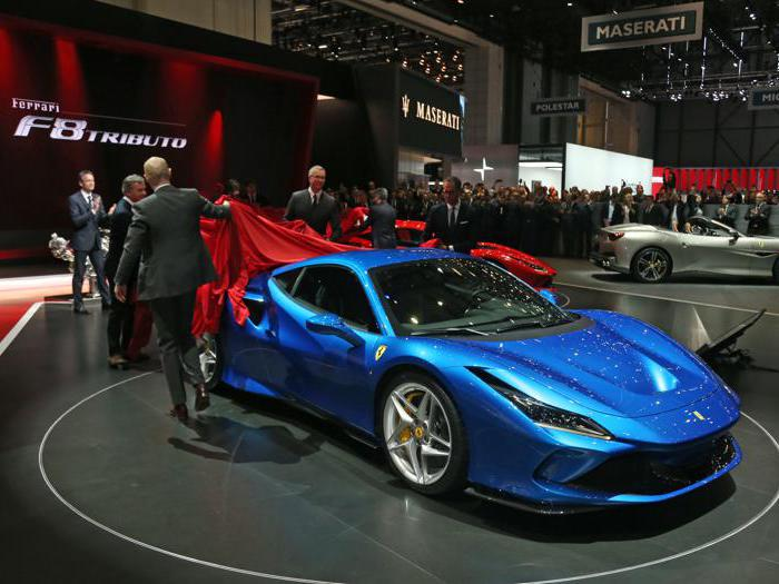Salone di Ginevra: Ferrari F8 Tributo