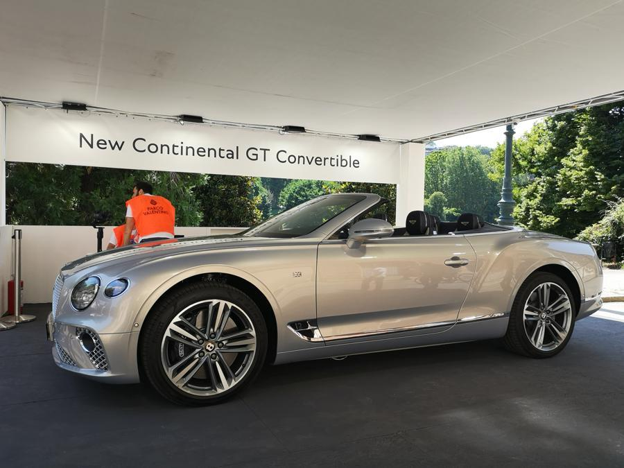 Bentley Continental GT Convertible (Giulia Paganoni)