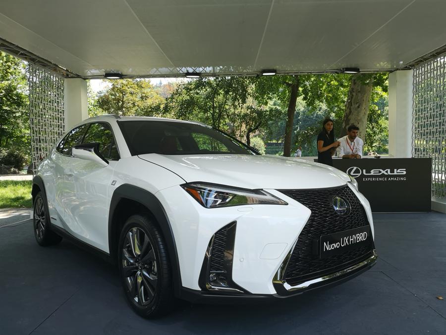 Lexus UX (Giulia Paganoni)