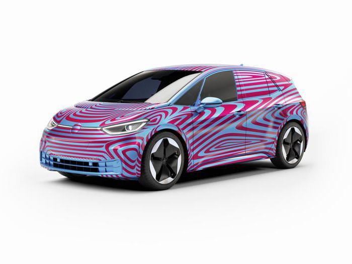 Volkswagen Id.3, tutte le foto della nuova elettrica