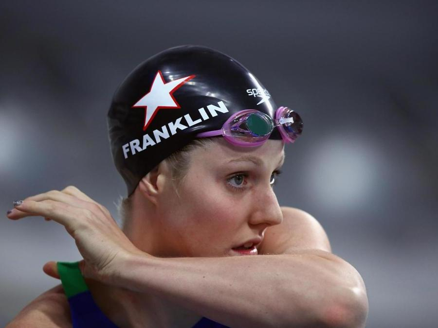 NUOTO. MISSY FRANKLIN. A causa di un ricorrente problema fisico alla spalla, la 23enne statunitense lascia le gare agonistiche. In carriera ha collezionato sei medaglie olimpiche (5 ori e un bronzo) e 16 titoli mondiali, di cui 11 ori, 2 argenti e 3 bronzi. (Afp)
