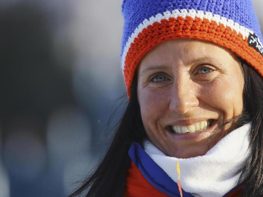 SCI DI FONDO. MARIT BJOERGEN. L'atleta più medagliata ai Giochi olimpici invernali, all'età di 38 anni, lascia le competizioni internazionali. In carriera ha collezionato 15 titoli olimpici (8 ori, 4 argenti e 3 bronzi). 26 titoli mondiali, quattro Coppe del mondo generale e otto di specialità. (Afp)