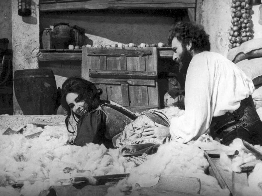 Una scena del film «La bisbetica domata» del 1967 regia di Franco Zeffirelli (Marka)