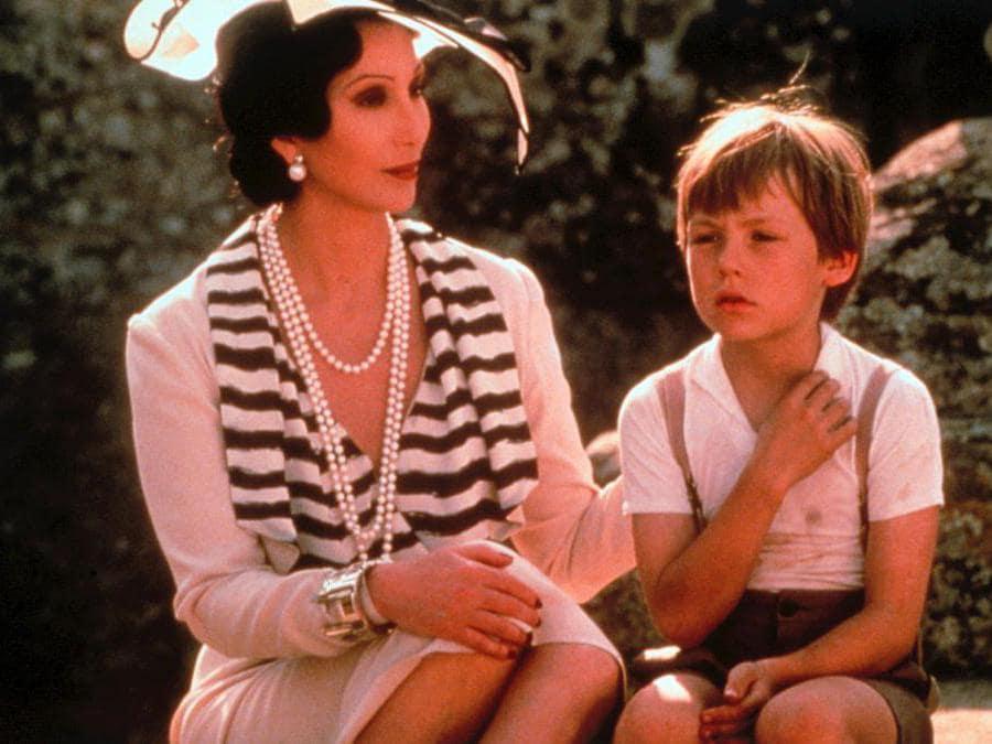 Cher in una scena del film «Un tè con Mussolini» di Franco Zeffirelli (Marka)