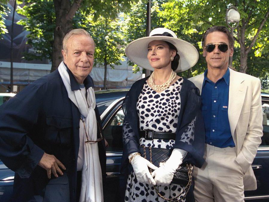 Fanny Ardant, Jeremy Irons e Franco Zeffirelil sul set del film «Callas Forever» del 2002  (Afp)
