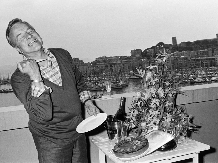 Franco Zeffirelli nel 1986 durante il 39esimo Film International a Cannes (Afp)