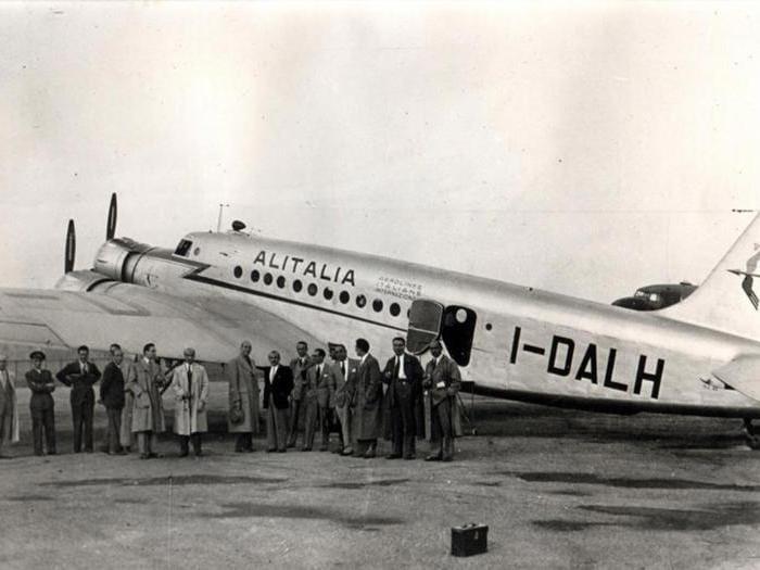 Alitalia, 70 anni di storia per immagini e voli