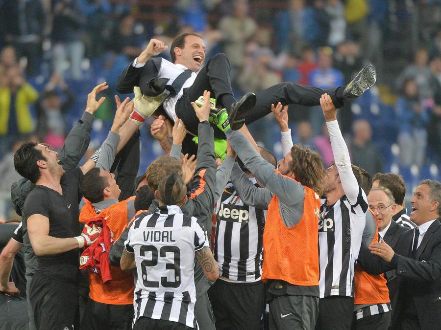 2015. Campione d'Italia. (Ansa)