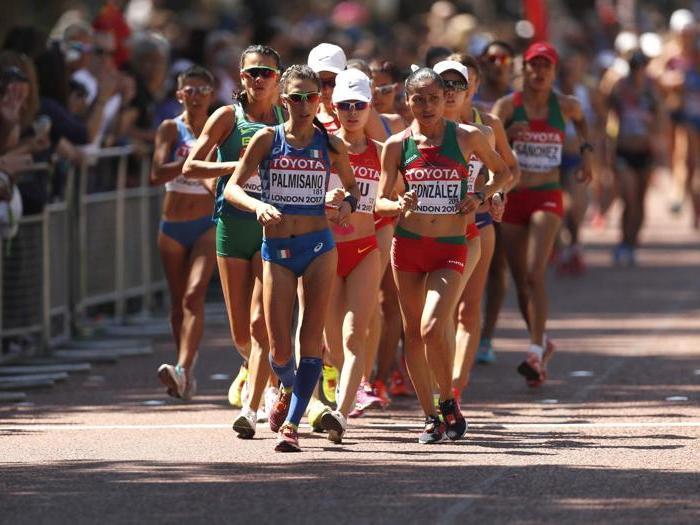 Antonella Palmisano bronzo nella 20 km