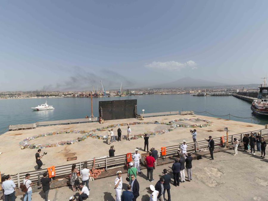 Il Terzo Paradiso a Catania per il Mediterraneo