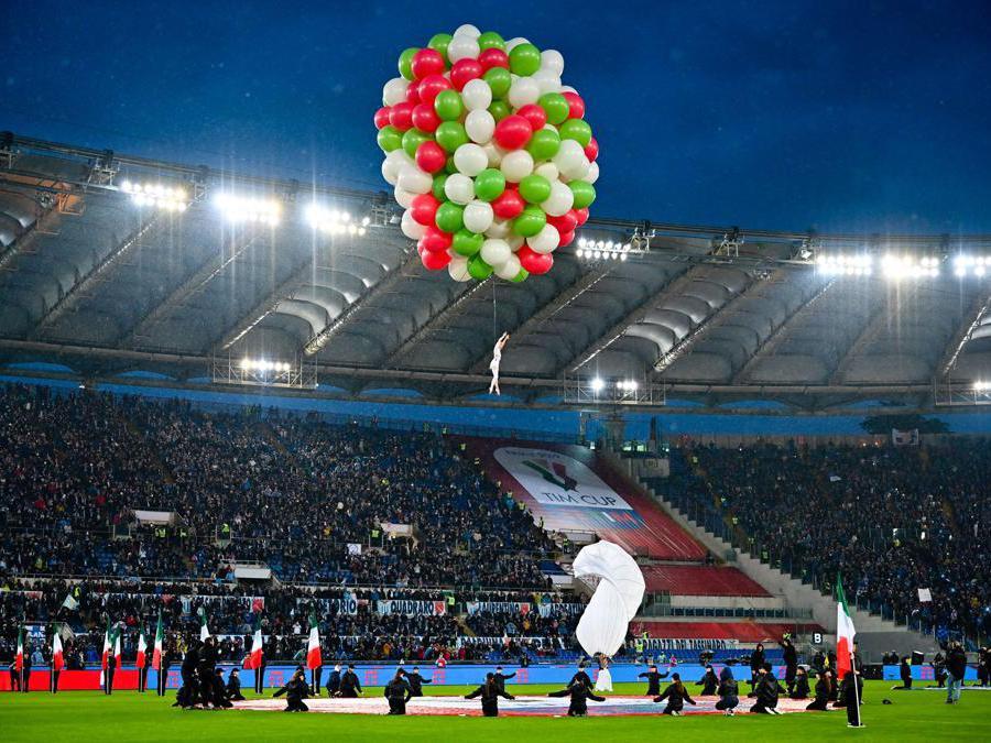 Roma. La cerimonia iniziale allo Stadio Olimpico (Italy Photo Press)