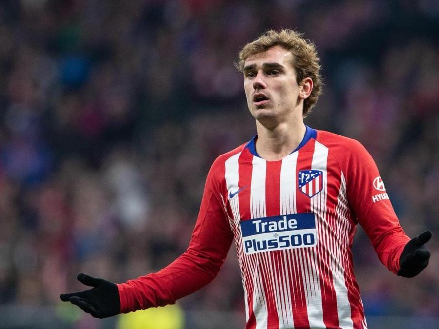 Antoine Griezmann  (Photo by pressinphoto/Sipa USA) (Ana Marcos / PRESSINPHOTO / IPA, Madrid - 2018-12-22)