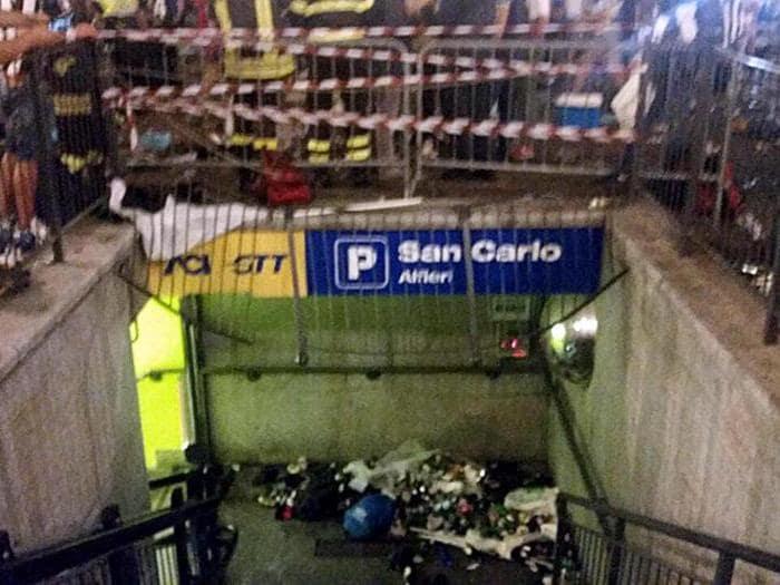 Falso allarme bomba a Torino: mille feriti, 8 gravi
