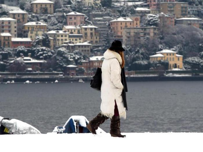Ghiaccio e neve al Nord