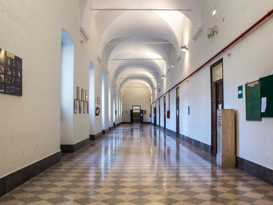 Palermo, Liceo Classico Vittorio Emanuele - Foto Giuseppe Caruso © FAI - Fondo Ambiente Italiano