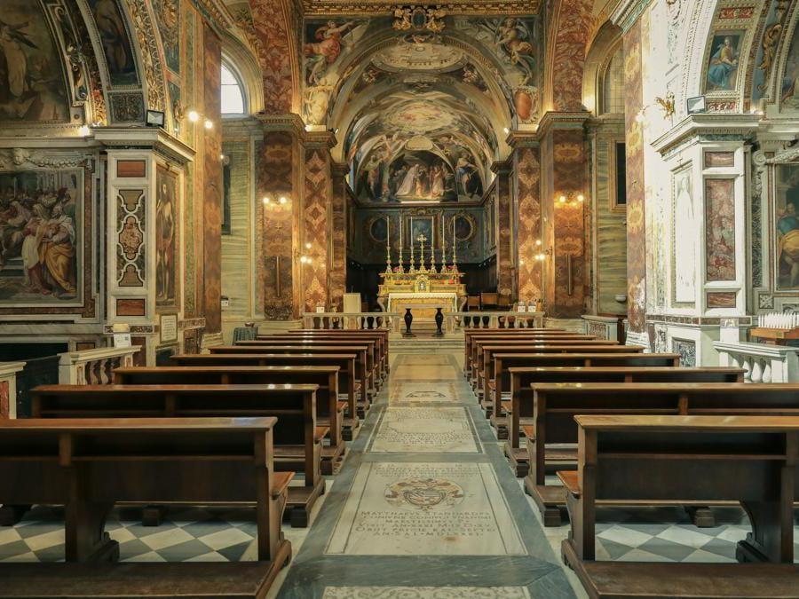 Roma, Chiesa San Silvestro al Quirinale - Foto Giovanni Formosa © FAI - Fondo Ambiente Italiano