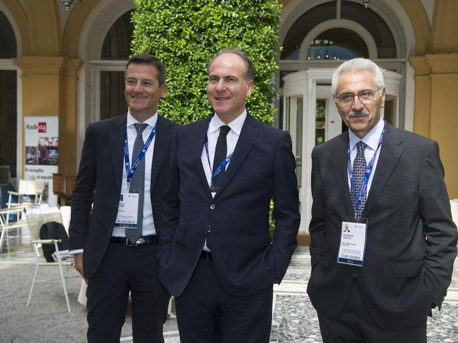 Nella foto Orazio Iacono, Gianfranco Battisti e Maurizio Gentile Italy Photo Press-World Copyright