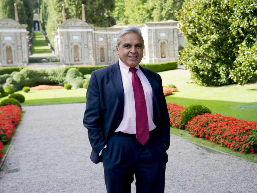 Kishore Mahbubani,  NUS  Italy Photo Press-World Copyright
