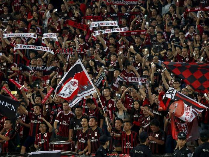 I tifosi del derby made in China