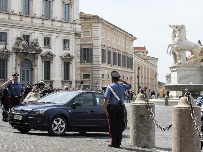 La visita  del Papa al Quirinale