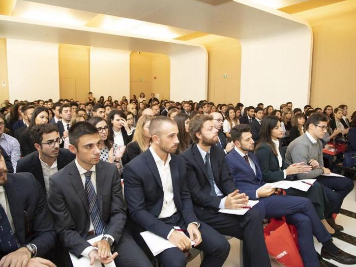 L'inaugurazione dei sei master full time della Business School24 di Roma