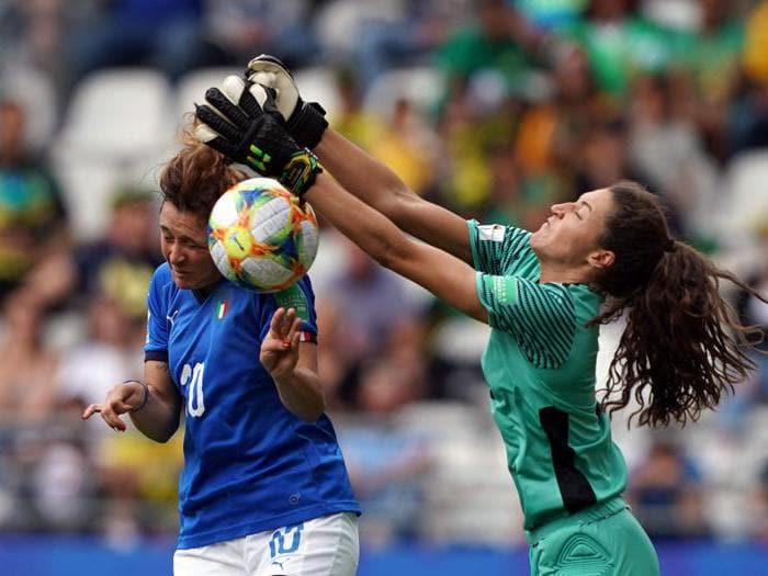 La goleada dell'Italia femminile ai Mondiali di calcio