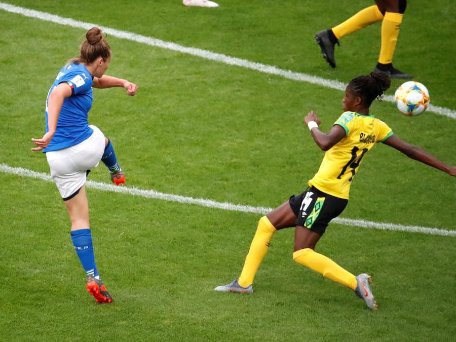 Il goal di Aurora Galli (Reuters)