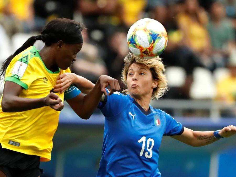 Valentina Giacinti e Konya Plummer (Reuters)