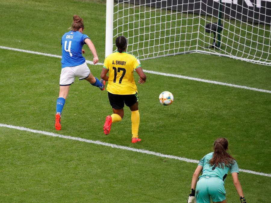 Goal di Aurora Galli (Reuters)