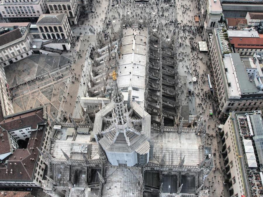 Veduta del Duomo e delle sue Terrazze