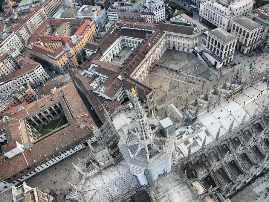 Veduta verso il Duomo