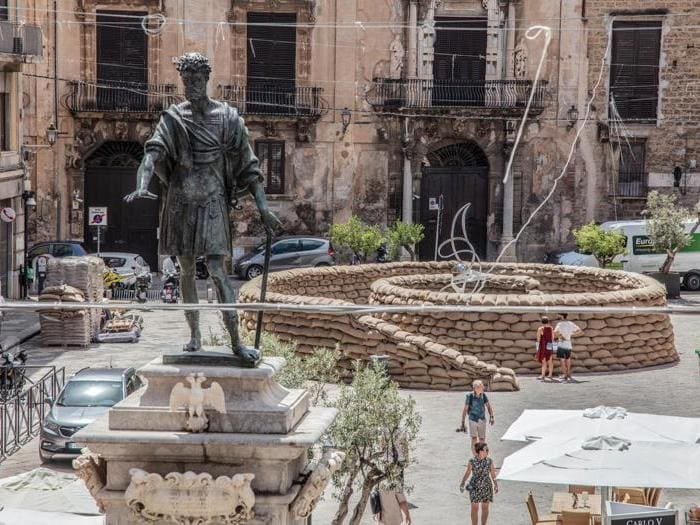 La spirale della vita a Palermo per ricordare Paolo Borsellino