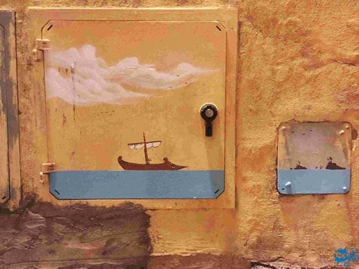 Le cabine elettriche d'artista