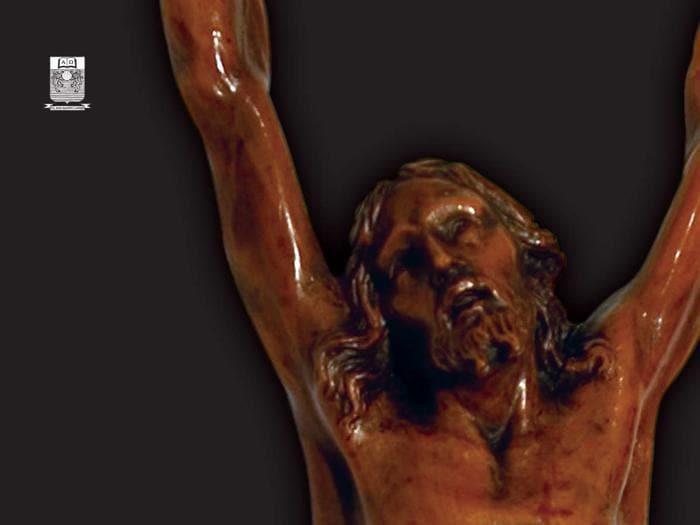 Le foto del Cristo ligneo di Michelangelo e i protagonisti della sua storia