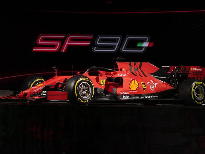 Le immagini della nuova Ferrari SF90