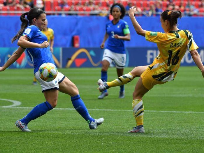 Mondiali di calcio femminile, impresa Italia: battuta l'Australia