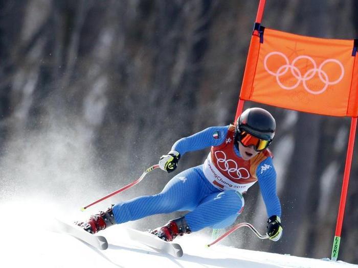 Olimpiadi invernali, Goggia d'oro in discesa libera