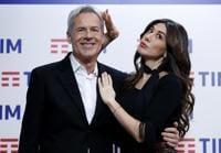 Claudio Baglioni e Virginia Raffaele - ANSA/RICCARDO ANTIMIANI