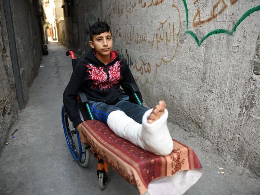 Rami, Gaza. Credit: Saman Saidi/ Save the Children