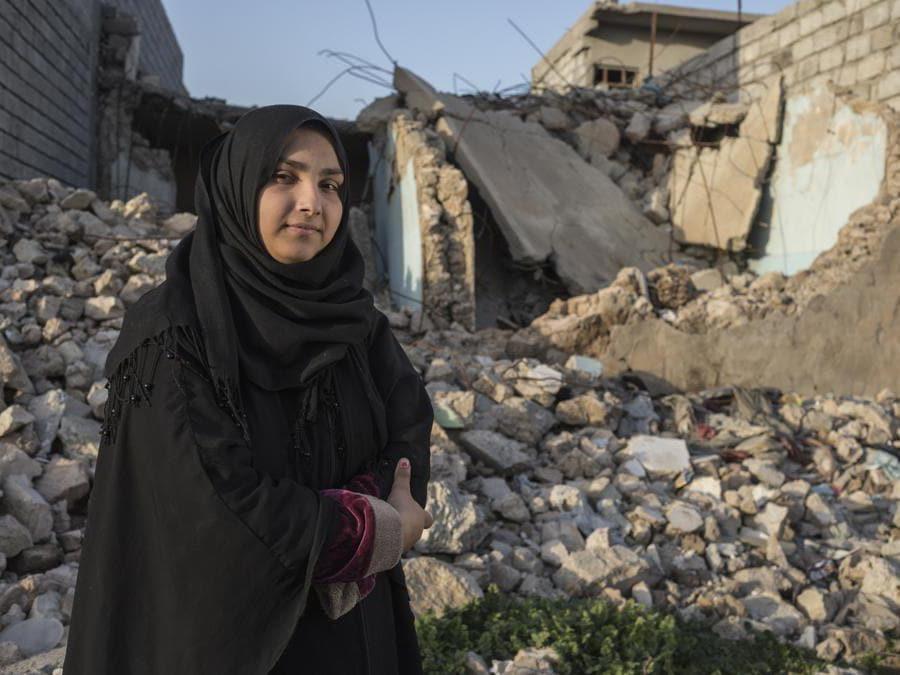 Mariam, Iraq. Credit: Sam Tarling / Save the Children