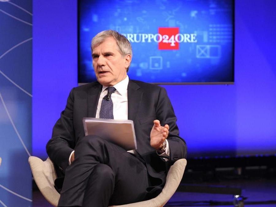 Nella foto : Massimo Miani presidente ordine dei commercialisti. (IPP/Di Mauro)