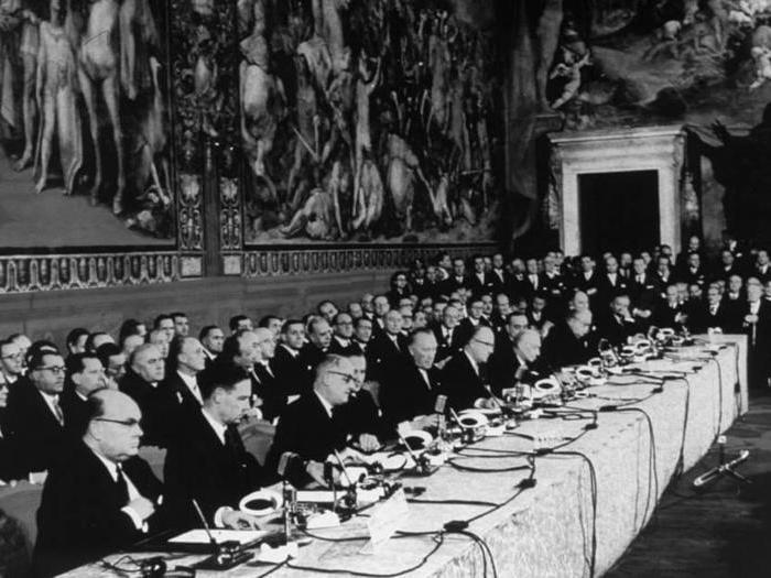Trattati di Roma, le celebrazioni alla Camera