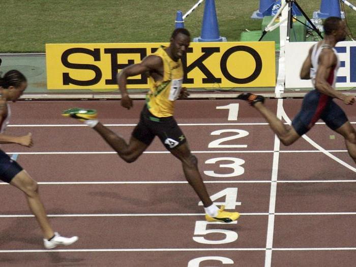 Usain Bolt,  la leggenda giamaicana dello sprint