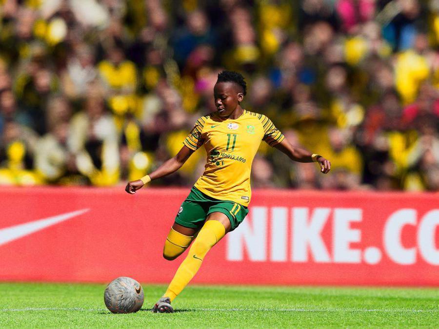 Sudafrica. Thembi Kgatlana