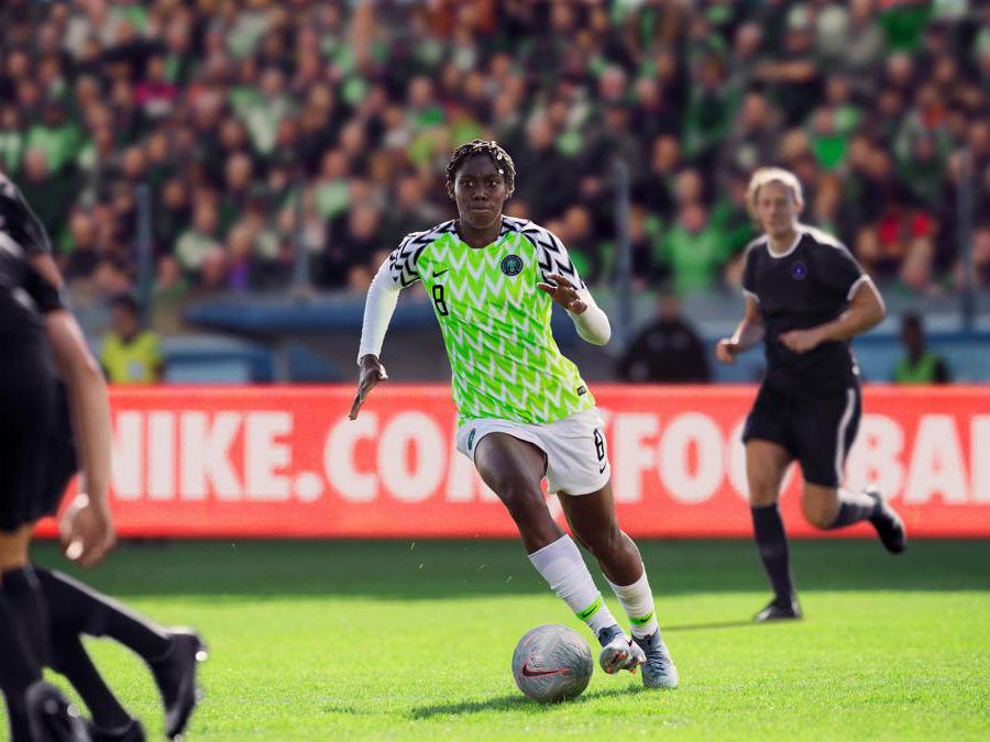 Nigeria. Asisat Oshoala