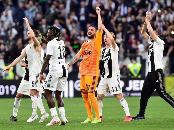 Juventus, la festa per l'ottavo scudetto consecutivo
