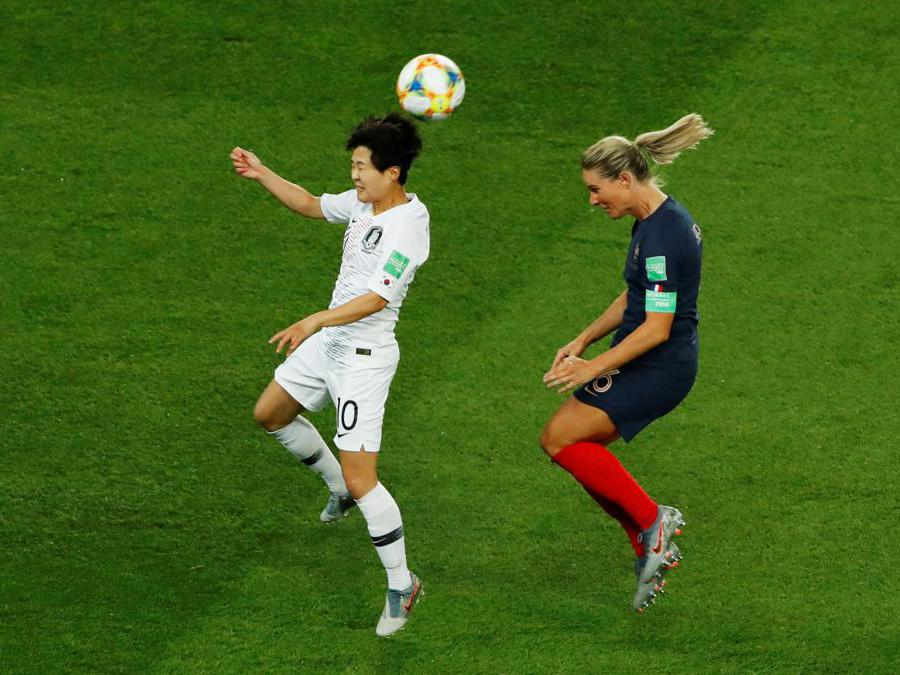 Ji Soyun e Amandine Henry (Reuters)