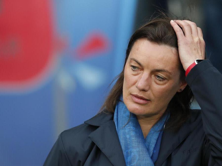 L'allenatore Corinne Diacre (Epa)